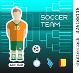 soccer team   ivory coast....   Shutterstock .eps vector #326188118