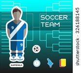 soccer team guatemala  ...   Shutterstock .eps vector #326188145