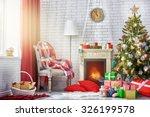 a beautiful living room... | Shutterstock . vector #326199578