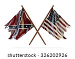 american civil war and merorial ... | Shutterstock . vector #326202926