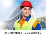 manual worker. | Shutterstock . vector #326205962