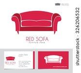 sofa business sign   business... | Shutterstock .eps vector #326206532