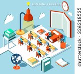 the concept of learning  read... | Shutterstock .eps vector #326218535