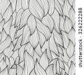 elegant seamless pattern with... | Shutterstock .eps vector #326222288