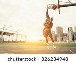 Street Basketball Player...