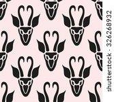 elegant seamless pattern with... | Shutterstock .eps vector #326268932