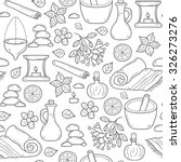 seamless ayurveda background in ... | Shutterstock .eps vector #326273276