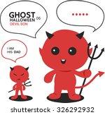 ghost character set for... | Shutterstock .eps vector #326292932