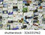 pointillist varicolored... | Shutterstock . vector #326331962