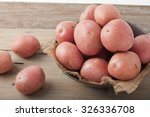 Large Red Potatoes In A Bowl O...