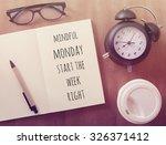 inspirational motivating quote ...   Shutterstock . vector #326371412
