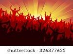 banner for sports championship... | Shutterstock .eps vector #326377625