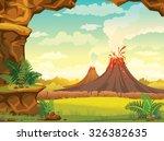 vector natural illustration  ... | Shutterstock .eps vector #326382635