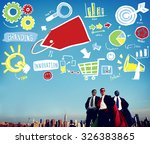 branding marketing advertising... | Shutterstock . vector #326383865