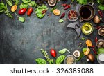 fresh delicious ingredients for ... | Shutterstock . vector #326389088