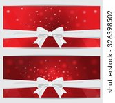 red christmas holiday and new... | Shutterstock .eps vector #326398502
