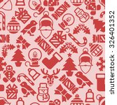 Christmas Pattern Background...