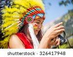 native indian | Shutterstock . vector #326417948