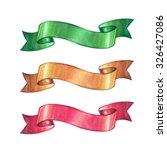 Christmas Ribbon Design...