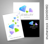 jewelry boutique   template... | Shutterstock .eps vector #326430482