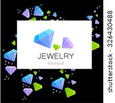 jewelry boutique   template... | Shutterstock .eps vector #326430488