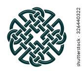 celtic dara knot  symbol of... | Shutterstock .eps vector #326440322