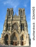 Famous Cathedral In The French...