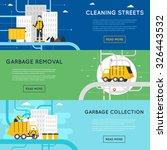 garbage disposal  sanitary...   Shutterstock .eps vector #326443532