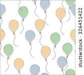 balloon background | Shutterstock .eps vector #326451422