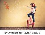 portrait of young businessman... | Shutterstock . vector #326465078