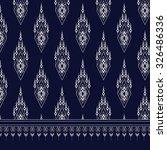 geometric ethnic pattern design ... | Shutterstock .eps vector #326486336