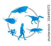 the development of life on earth | Shutterstock .eps vector #326493572