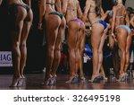 side view of beautiful girls in ... | Shutterstock . vector #326495198