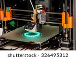 working 3d printer | Shutterstock . vector #326495312
