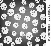 seamless pattern with stylized...   Shutterstock .eps vector #326505752