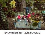 Autumn Garden Decoration With...