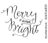 Merry And Bright. Whimsical...