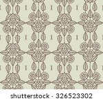 pattern of the cocoa bean | Shutterstock .eps vector #326523302