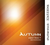 autumn abstract line vector... | Shutterstock .eps vector #326533046