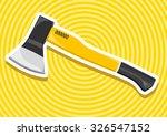 nice classical yellow golden... | Shutterstock .eps vector #326547152