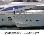 genoa  italy   october 3  2009  ... | Shutterstock . vector #326548595
