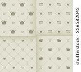 simple seamless vector pattern... | Shutterstock .eps vector #326582042
