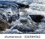 natural water in a glass | Shutterstock . vector #326584562