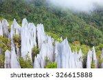Limestone Pinnacles Formation...