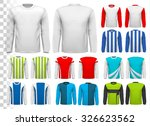collection of various male long ... | Shutterstock .eps vector #326623562