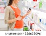 pregnancy  medicine ... | Shutterstock . vector #326633096