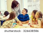 education  elementary school ... | Shutterstock . vector #326638586