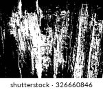 grunge black and white texture .... | Shutterstock .eps vector #326660846