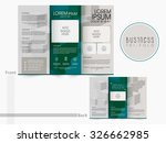 front and back page... | Shutterstock .eps vector #326662985