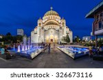 Saint Sava Temple  Belgrade...